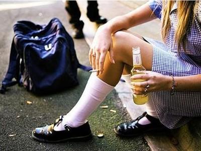 Вовлечение несовершеннолетних в употребление алкоголя