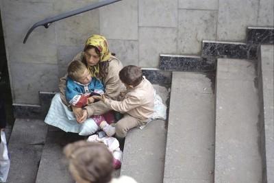 Вовлечение детей в попрошайничество
