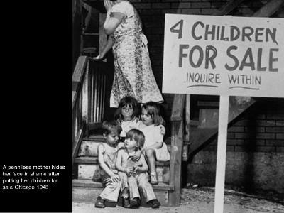 что толкает людей на продажу детей?