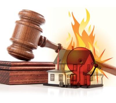 Какая ответственность вменяется в УК РФ за нарушение правил противопожарной безопасности?