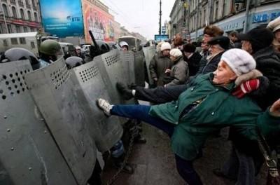 Отграничение массовых беспорядков от смежных преступлений