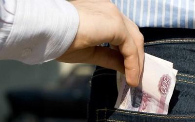 Кража денег