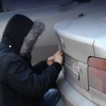Кража автомобильных гос номеров